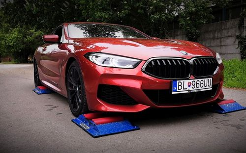 BMW M850i Coupe 4×4 test